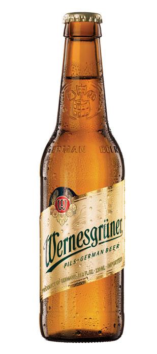 Cerveza Pilsener Wernesgruner