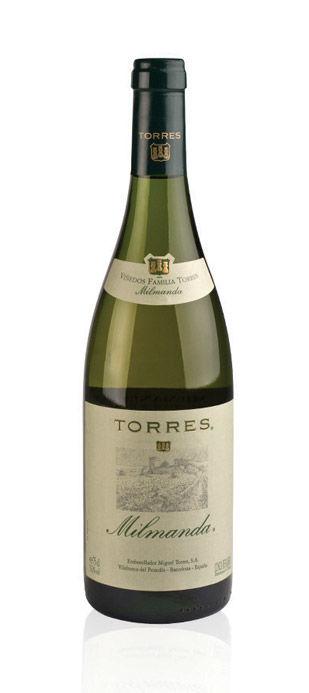 Vino Blanco Chardonnay Milmanda Torres