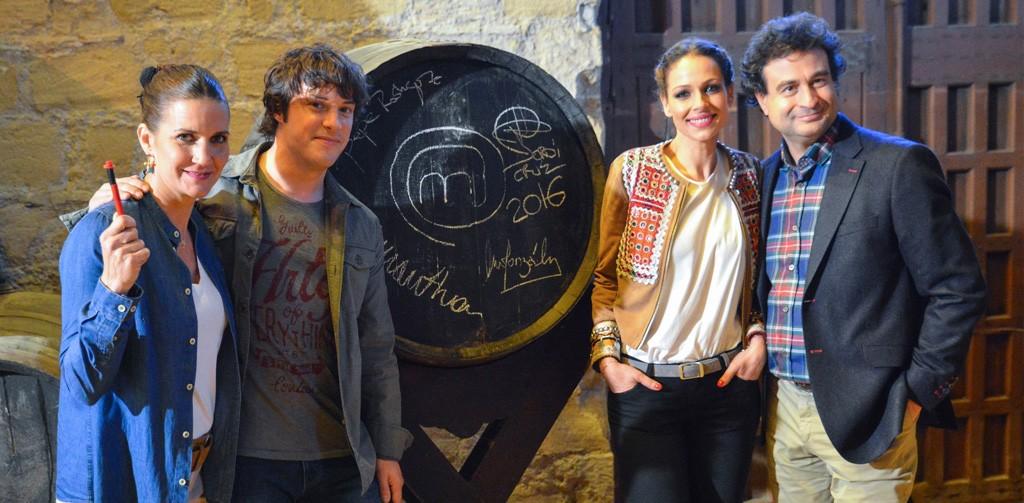 MasterChef, el programa estrella de cocina de TVE 1, graba uno de sus capítulos en las bodegas de González Byass en Jerez