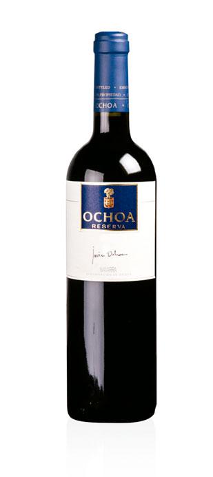 Vino Tinto Reserva Ochoa