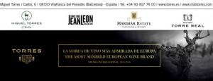 Milmanda de Bodegas Torres elegido el vino europeo preferido en la cena del 40º Aniversario del 'Juicio de París'