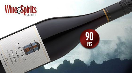 "Leyda Reserva Pinot Noir entre los ""Top 100 Values of the Year"" de Wine & Spirits"